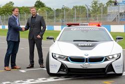 Presentazione safety car BMW