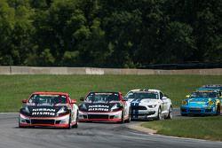 #14 Doran Racing Nissan 370Z: B.J. Zacharias, Brad Jaeger and #41 Doran Racing Nissan 370Z: Nick Ham