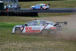 Todd Kelly, Nissan Motorsport crashes