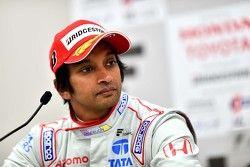 Third place Narain Karthikeyan, Team Dandelion Racing