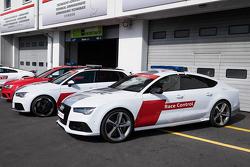 Audi, auto dei giudici di pista