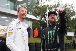 Jenson Button ve Liam Doran
