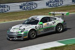 La Porsche #111 di Livio Selva e Tommaso Maino, Ebimotors