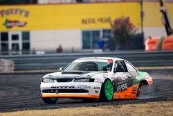 Drift action on three wheels