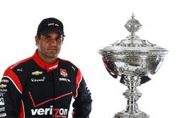 Le prétendant au titre Juan Pablo Montoya, Team Penske Chevrolet