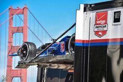 Andretti Autosport wagen van Justin Wilson