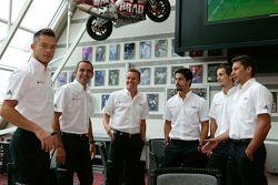 Andre Lotterer, Benoit Tréluyer, Marcel Fassler, Lucas di Grassi, Oliver Jarvis, Loic Duval, Audi Sp