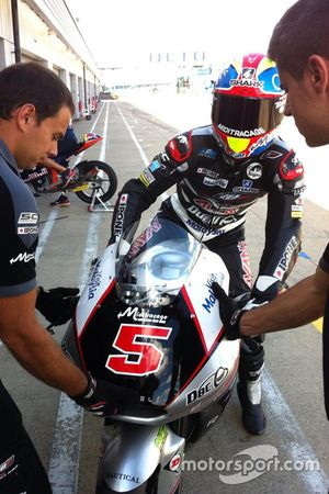 Johann Zarco, Ajo Motorsport, la nuova livrea del casco