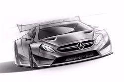 Эскиз Mercedes для DTM 2016 года
