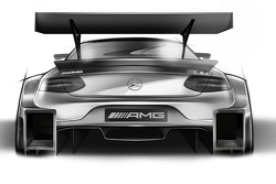Дизайн машины Mercedes-Benz DTM на 2016 год