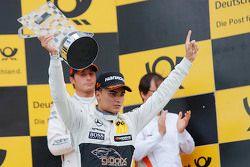 Podium: 1. Pascal Wehrlein, HWA AG, Mercedes-AMG C63 DTM