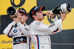 Podium: tweede Marco Wittmann, BMW Team RMG BMW M4 DTM, derd Bruno Spengler, BMW Team MTEK BMW M4 DT