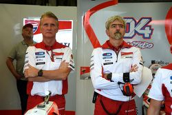 Паоло Чиабатти и Луиджи Даль'Инья, Ducati Team