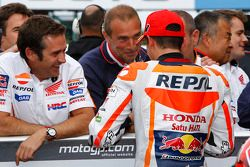 Обладатель поула - Марк Маркес, Repsol Honda Team