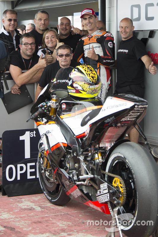 Open Class fastest qualifier Лоріс Баз, Forward Racing Yamaha