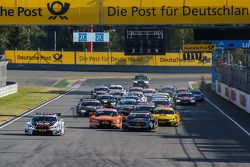Start: Marco Wittmann, BMW Team RMG, BMW M4 DTM, in Führung