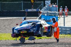 De wagen van Mattias Ekström, Audi Sport Team Abt Sportsline, Audi A5 DTM