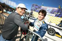 Nelson e Pedro Piquet