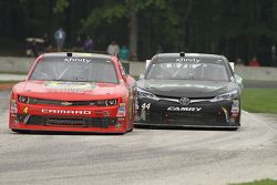 Michael Self, Chevrolet and David Starr, TriStar Motorsports Toyota