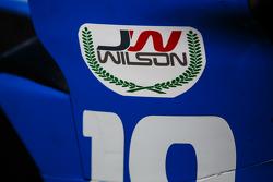 Un sticker en hommage à Justin Wilson