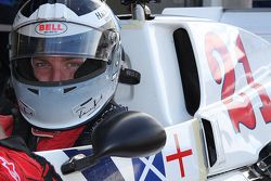 Freddie Hunt pilote la Hesketh de son père