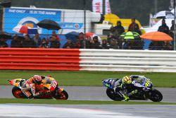Valentino Rossi, Yamaha Factory Racing et Marc Marquez, Repsol Honda Team