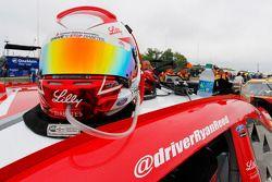 Casco de Ryan Reed, Roush Fenway Racing Ford