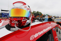 Helmet of Ryan Reed, Roush Fenway Racing Ford
