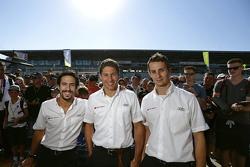 فريق أودي سبورت جوست آر18 إي-ترون كواترو: لوكاس دي غراسي، لويك دوفال، أوليفر جارفيس