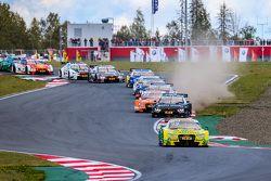 Départ : Mike Rockenfeller, Audi Sport Team Phoenix Audi RS 5 DTM mène