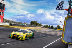 Il vincitore Mike Rockenfeller, Audi Sport Team Phoenix Audi RS 5 DTM