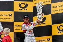 Podium: derde Mattias Ekström, Audi Sport Team Abt Sportsline, Audi A5 DTM