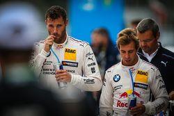 Martin Tomczyk, BMW Team Schnitzer BMW M4 DTM en Antonio Felix da Costa, BMW Team Schnitzer BMW M4 D