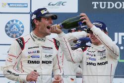 Podium: ganador, Mark Webber