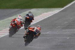 Dani Pedrosa, Repsol Honda Team, Andrea Dovizioso, Ducati Team, Danilo Petrucci, Pramac Racing Ducati e Jorge Lorenzo, Yamaha Factory Racing