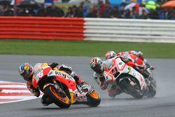 Dani Pedrosa, Repsol Honda Team, Danilo Petrucci, Pramac Racing Ducati e Andrea Dovizioso, Ducati Team