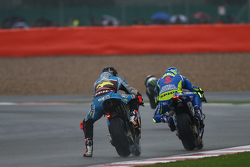 Scott Redding, Marc VDS Racing Honda, et Aleix Espargaro, Team Suzuki MotoGP