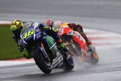 Valentino Rossi, Yamaha Factory Racing e Marc Marquez, Repsol Honda Team