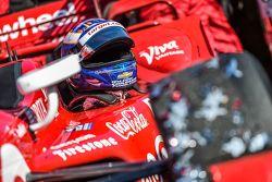 Ganador de la carrera y campeón de IndyCar, Scott Dixon, Chip Ganassi Racing Chevrolet