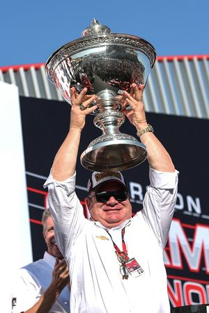 El dueño del equipo campeón, Chip Ganassi