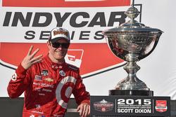 1. und IndyCar-Champion 2015: Scott Dixon, Chip Ganassi Racing Chevrolet