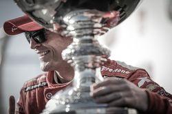 Ganador de la carrera y el campeonato, Scott Dixon, Chip Ganassi Racing Chevrolet