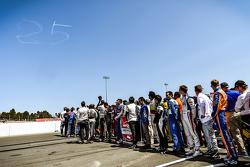 Les pilotes rendent hommage à Justin Wilson