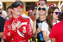 El ganador, Scott Dixon, Chip Ganassi Racing Chevrolet