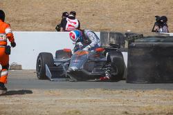 James Jakes, Schmidt Peterson Motorsports, incidente