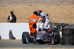 Авария Джеймса Джейкса, Schmidt Peterson Motorsports