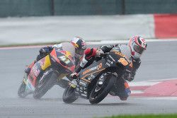 Alexis Masbou, Saxoprint RTG et Brad Binder, Red Bull KTM Ajo