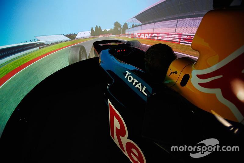 La sede del simulador de Red Bull Racing