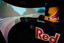 De hypermoderne Red Bull Racing simulator
