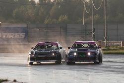 Евгений Ружейников, Nissan, и Андрей Песегов, Nissan